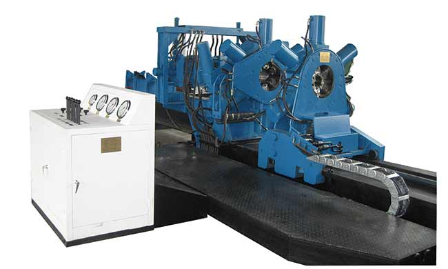Hydraulic Bucking Unit Botta Equipment